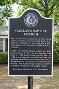 Image for Oakland Baptist Church - Canton, TX