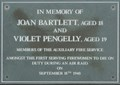 Image for Joan Bartlett and Violet Pengelly - Westferry Road, London, UK