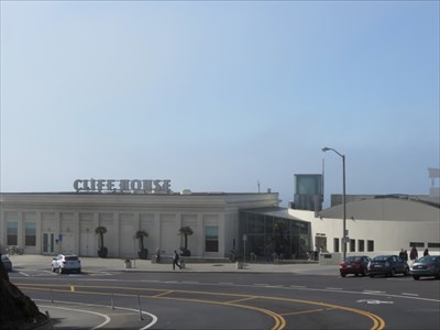 Cliff House and Gift Shop, San Francisco, California