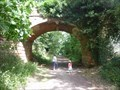 Image for Footpath bridge over  old railway line, Stourpost-on-Severn, Worcestershire, England