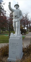 Image for Spirit of the American Doughboy WWI Memorial - King, WI
