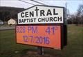 Image for Central Baptist, time-temp - Binghamton, NY