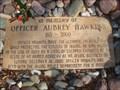 Image for Aubrey Hawkins - Police Memorial