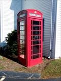 Image for Red Telephone Box - Sturbridge, Massachusetts