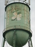 Image for Water Tower with White Flowers - Denmark, South Carolina