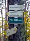 Image for Rozcestník turistických tras - Na Kopaninách (rozc.), CZ