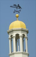 Image for Horse Rider Weathervane - East Front St, Perrysburg, Ohio.