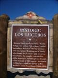 Image for Los Luceros Historic Marker