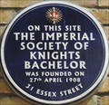 Image for Society of Knights Bachelor - Essex Street, London, UK