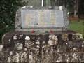 Image for Mt Wilson War Memorial - Mt Wilson, NSW, Australia