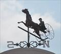 Image for Grant's Farm Bavarian Village Sulky Racer Weathervane