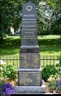 Image for Pomník obetem 1. a 2. svetové války / Combined WWI & WWII Memorial - Kytín (Central Bohemia)