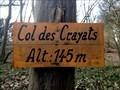 Image for Col des Crayats - Floreffe - Belgique. 145m