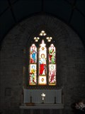 Image for Stained glass window in Stoke Climsland church, Cornwall