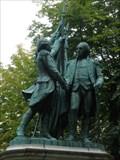 Image for George Washington and Marquis de Lafayette - Paris, France