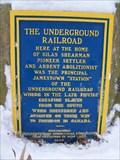 Image for The Underground Railroad - Jamestown, New York
