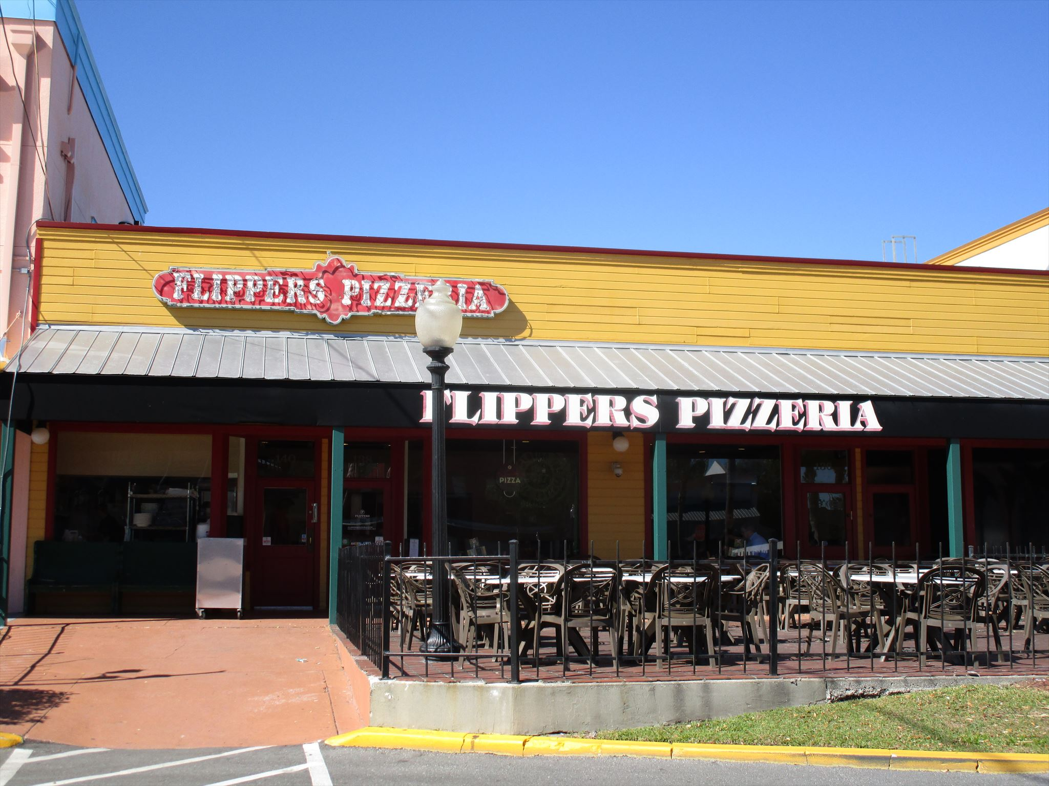 Flippers Pizzeria Old Town Kissimmee Florida Image