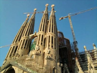 veritas vita visited Sagrada Familia