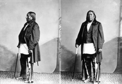 Chief Little Raven circa 1880. Courtesy Denver Public Library Digital Image collection.