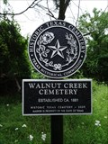 Image for Walnut Creek Cemetery
