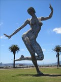 Image for MOVED: 40-Ft. Tall Color-Changing Woman - San Francisco, CA