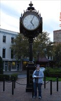 Image for Decorative Clock - Broad St. median, Augusta, GA