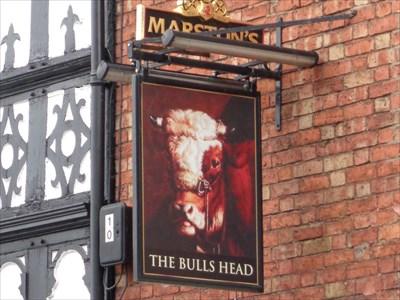 veritas vita visited The Bulls Head, Castle Gates, Shrewsbury