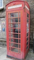 Image for Red Telephone Box Fore Street Redruth Cornwall UK