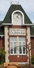 Image for L'horloge de l'Hôtel de ville - Dunham, Qc