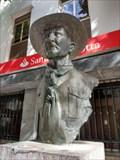 Image for Robert Baden-Powell Bust - Funchal, Madeira Island, Portugal