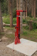 Image for Bicycle Repair Station - Hinton Bike Park, Hinton, Alberta, Canada