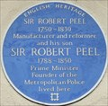 Image for Sir Robert Peel (Senior and Junior) - Upper Grosvenor Street, London, UK