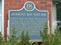 "Image for ""HUDSON'S BAY POST 1856""  --  Little Current"