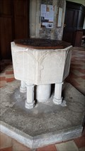 Image for Baptism Font - St Margaret - Hemingford Abbots, Huntingdonshire