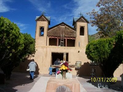 Front of El Santuario de Chimayo