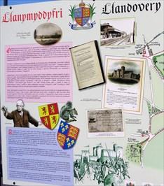 Llanymddyfri - Llandovery Map