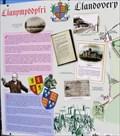 Image for Llanymddyfri - Llandovery Map - Carmarthenshire, Wales.
