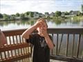 Image for Fishing Pier at Mehraban Wetlands Park - Draper, Utah USA