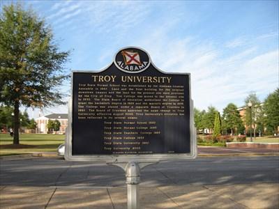 Troy University - Troy, Alabama - Alabama Historical Markers