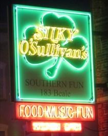 Silky O'Sullivan's - Artistic Neon - Beale Street.