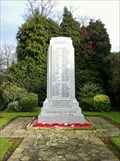 Image for Hadley War Memorial - Manse Road, Hadley, Telford, Shropshire