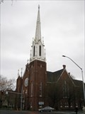 Image for First Methodist Episcopal Church Steeple - Salem, Oregon