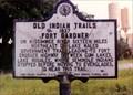 Image for Old Indian Trails-1837-Fort Gard(i)ner