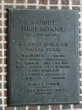Image for Sunset High School - 1925 - Dallas, TX