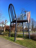 Image for Giant Mallet-Stevens Chair - Weil am Rhein, BW, Germany