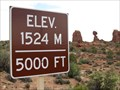 Image for Arches National Park - 1524m/5000'