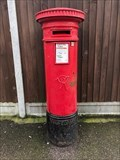 Image for Victorian Pillar Box - Edinburgh Road - Walthamstow - London - UK