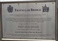 Image for Trafalgar Bridge - Historic Marker - Swansea, Wales.