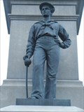 Image for Civil War Memorial Sailor - Saugus, MA, USA