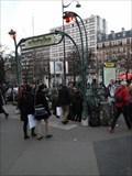 Image for Bouche d'Entrée Guimard Station Place d'Italie - Paris, France